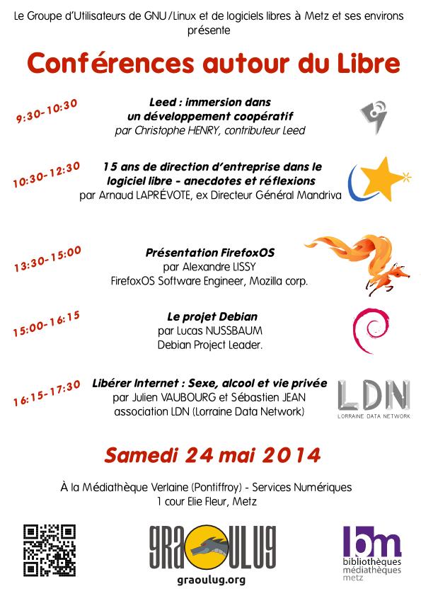 Fly Confs Libre 24 mai 2014