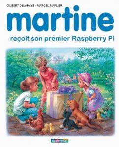 Martine reçoit son premier raspberry pi