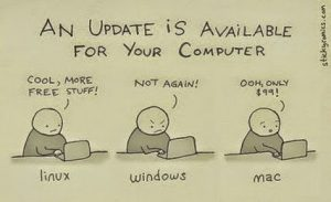 Update available for linux windows macos